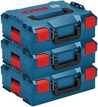 3 X Bosch L-BOXX 2 136 LBOXX Sortimo Tool Storage