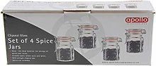 3 X Clipseal Spice Jars - Pack of 4