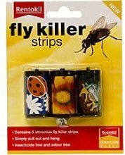3 X Fly Killer Strips X 3 (Insecticide Free &