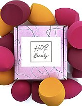 3 x HDR Beauty Makeup Blender Sponge with Edged