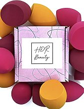 3 x HDR Beauty Makeup Blender Sponges with Edged