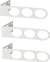 3 X KOMPLEMENT Valet hanger, white17x5 cm+ FREE