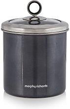 3 X Morphy Richards Large Storage Canister Black