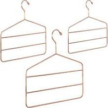 3 x Multi Hanger for Pants, Skirts & Scarves,