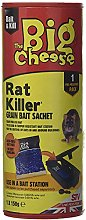 3 x Rat Killer² Grain Bait Sachet, Blue,