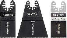 3 x Saxton Blades Mix for Dewalt Wolf Stanley Worx