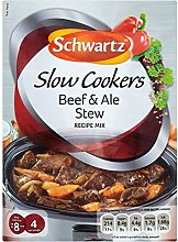 3 x Schwartz Slow Cooker Beef & Ale Stew Recipe