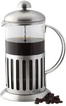 3 X Stainless Steel Shock Proof Glass Coffee