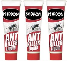 3 X Vitax Nippon Ant Killer Liquid Disp 25ml