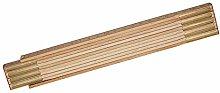 3 X Wooden Folding Rule 2m