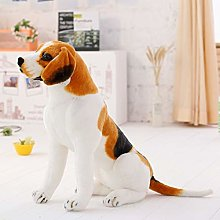 30-90cm Giant Beagle Dog Toy Realistic Stuffed