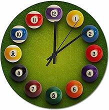 30 CM Wall Clock, Non-Ticking Silent Decorative