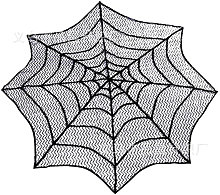 30 Inch Lace Spider Web Cobweb Halloweens