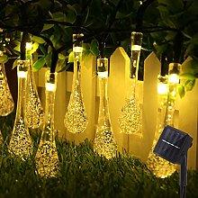 30 LED Solar String Lights, 6.5M/21.3FT Outdoor