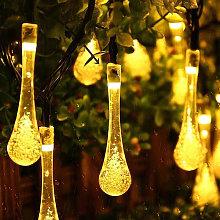 30 LEDs String Light Garden Outdoor Solar Powered