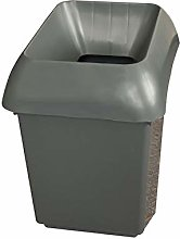 30 Litre Recycling Bin With Dark Grey Lid By