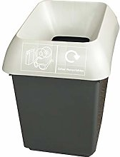 30 Litre Recycling Bin With Light Grey Lid & Other
