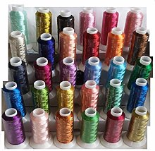 30 Metallic Embroidery Thread 500M (550 Yards)