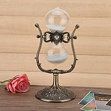 30 Minutes Sand Clock Timer Iron Hourglass Timer