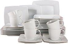 30 Piece Dinnerware Set, Service for 10 Symple