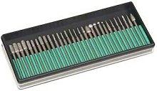 30 Piece Rotary Diamond Burr Set Kit Compatible