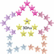 30 Pieces Starfish Magnets Fridge Magnets