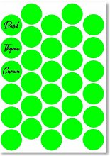 30 Small Circular Dry Erase RE-WRITABLE Whiteboard
