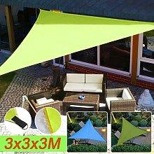 300 * 300 * 300cm Triangular Waterproof UV Sun