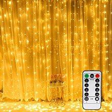 300 LED Curtain Lights,LED Window Curtain String