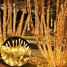 300 LED String Lights Outdoor Indoor, Extra Long