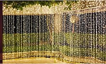 300-LED USB Plug-In Curtain Fairy Lights: One/with