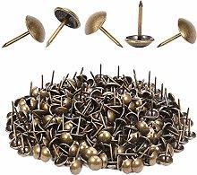 300 Pcs Tacks, Upholstery Nails Furniture Antique