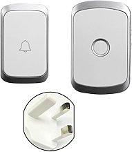 300M Wireless Doorbell Waterproof LED Door Chime