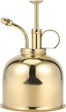 300ml Retro Brass Watering Can Vintage Copper
