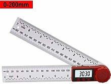 300mm/200mm Digital Angle Ruler Inclinometer