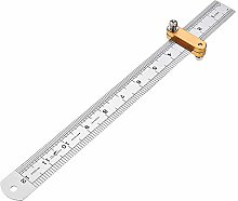 300mm Metric and Inch Parallel Line Scriber Ruler