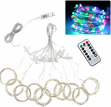 300pcs led Curtain Icicle String Lights Remote