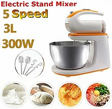300W Professional Kitchen Electric Stand Mixer,3 L