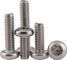 304 Stainless Steel Button Head Torx Security