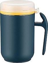 304 Stainless Steel Mug Olive Oil Can with Lids