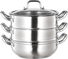 304 Stainless Steel Soup Steamer Household Double