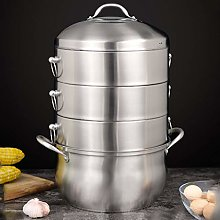 304 Stainless Steel Steamer/Soup Pot 4-Layer