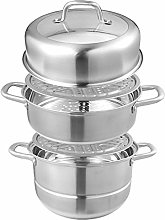 304 Stainless Steel Steaming Soup Pot Household