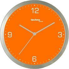 30cm Quartz Wall Clock Technoline Colour: Orange