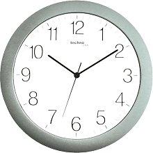 30cm Quartz Wall Clock Technoline Colour: Silver