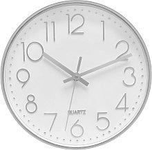 30cm Round Modern Quartz Silent Wall Clock