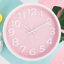 30cm Silent Non-Ticking Quartz Wall Clock, Round