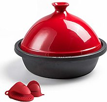 30Cm Tagine Cast Iron, Enameled Cast Iron with