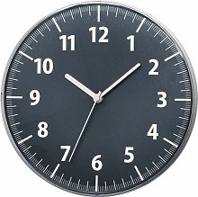 30cm Wall Clock Symple Stuff Colour: Gray