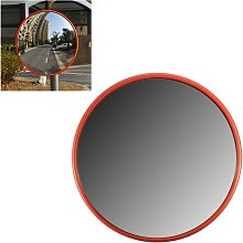 30cm Wide Angle Security Road Mirror Curved For